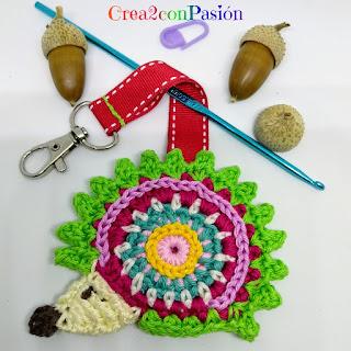 Llavero-hedgehog-erizo-crochet-crea2-con-pasion