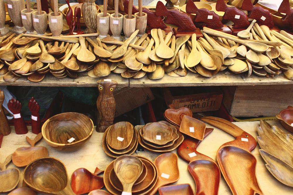 peças madeira cozinha feira