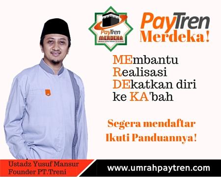 Cara Daftar Umrah Paytren