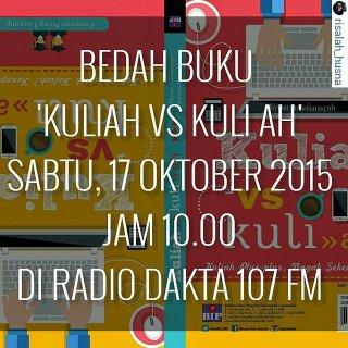 Pengalaman On Air di Radio Dakta