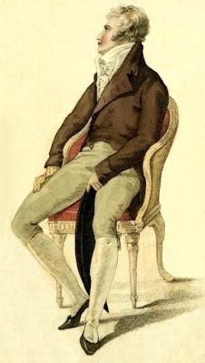 Gentleman's full dress  from Ackermann's Repository (1810)