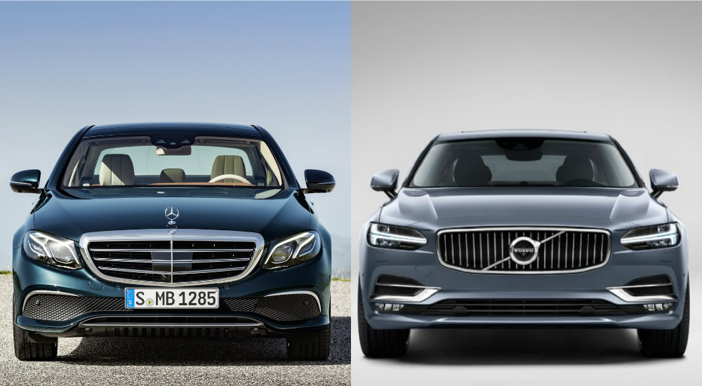 S 90 3 >> Mercedes E220d Volvo S90 D5 Karsilastirmasi Sekiz Silindir