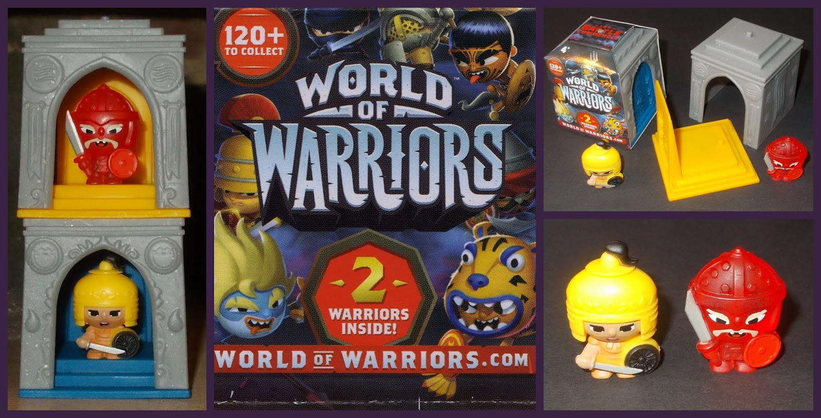 G is for Gift Egg Updates - 3 - Giochi Preziosi  World of Warriors ... 5afa55b1793