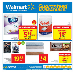 Walmart Grocery Flyer March 23 to 29, 2017