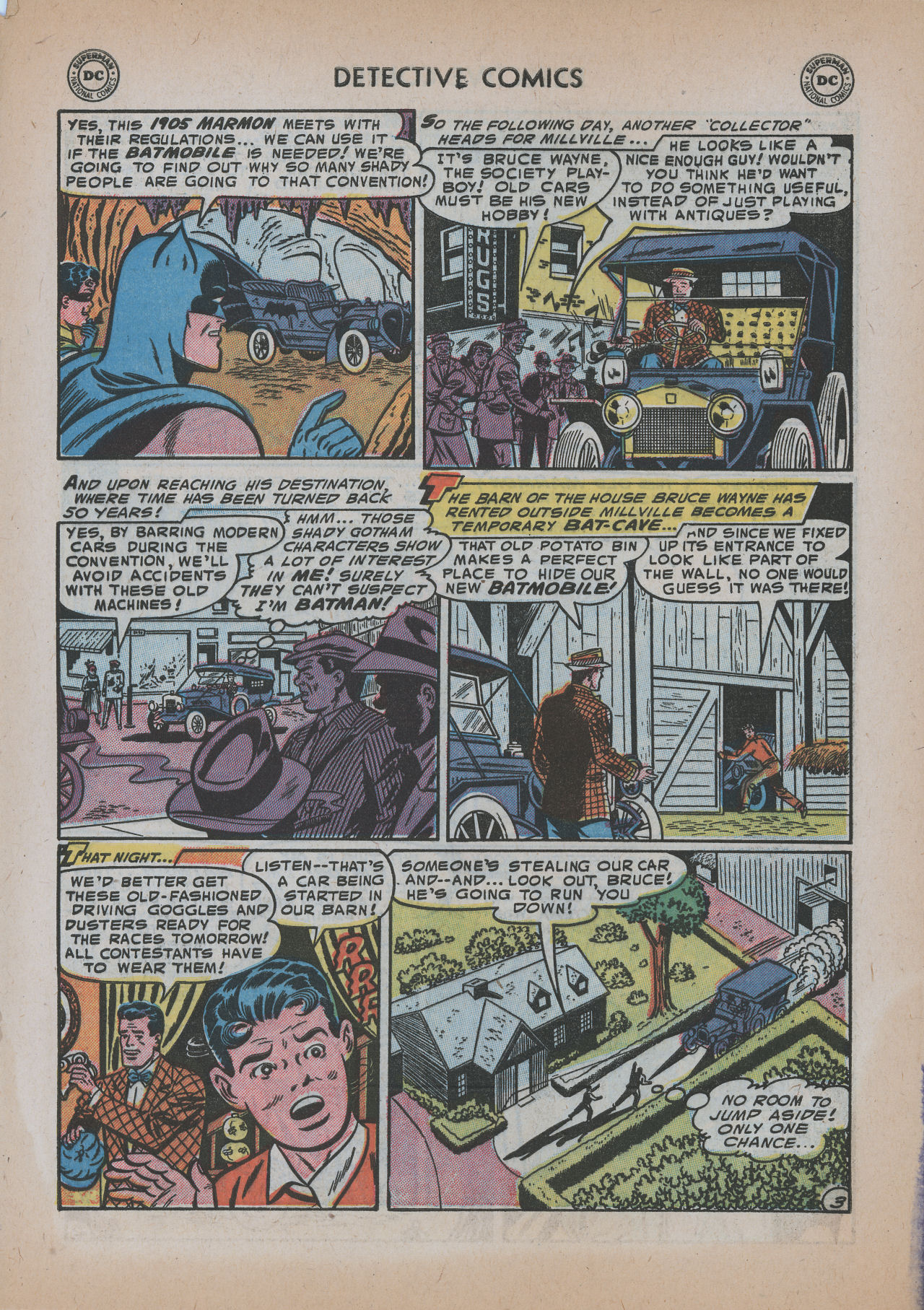 Read online Detective Comics (1937) comic -  Issue #219 - 5