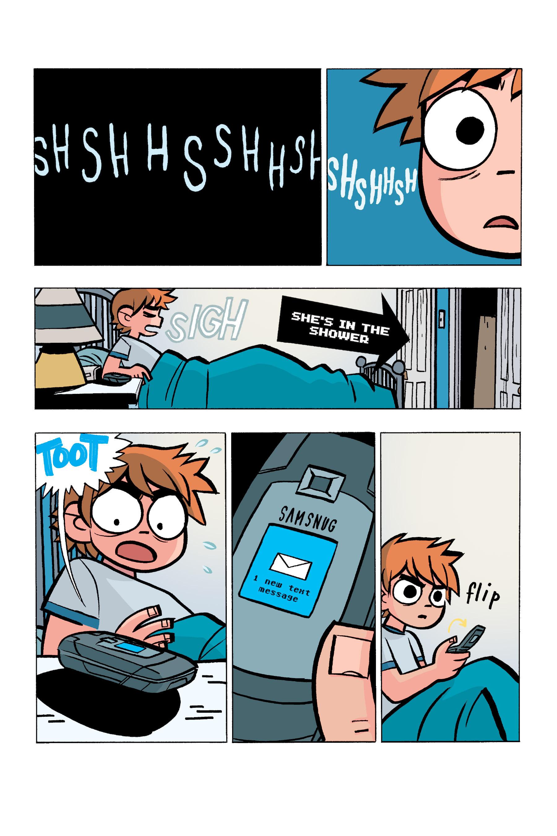 Read online Scott Pilgrim comic -  Issue #5 - 111