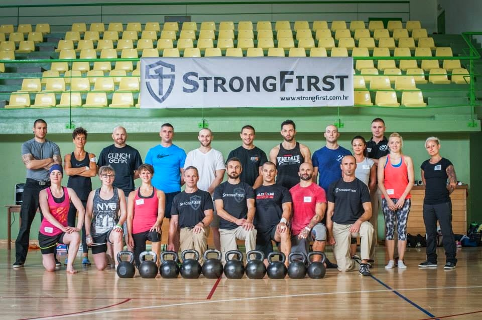 Rifs Blog: First workout back from Croatia SFG 32kg one arm