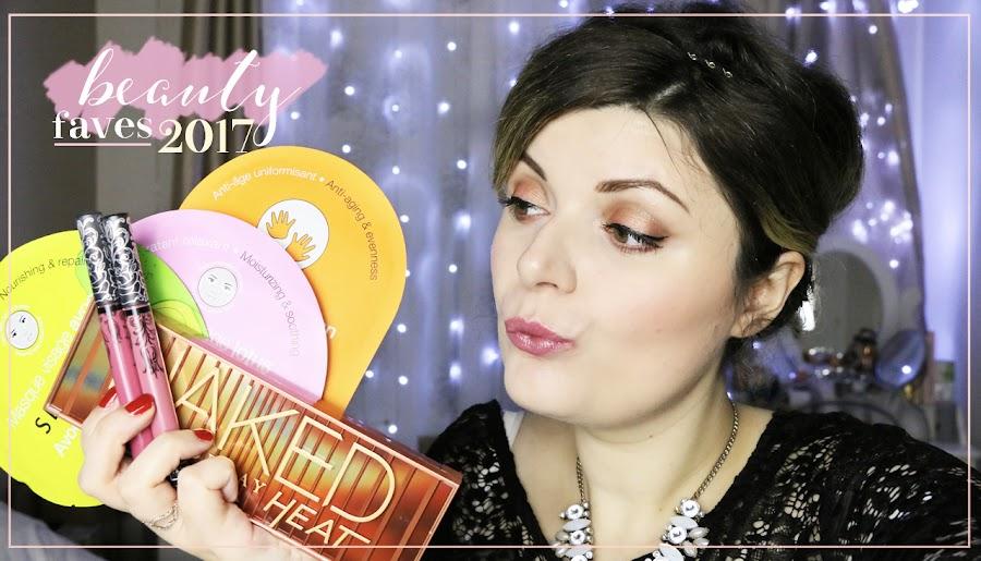 beauté favoris 2017 soin makeup avis
