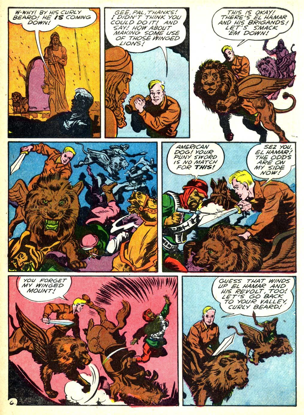Read online All-American Comics (1939) comic -  Issue #57 - 55