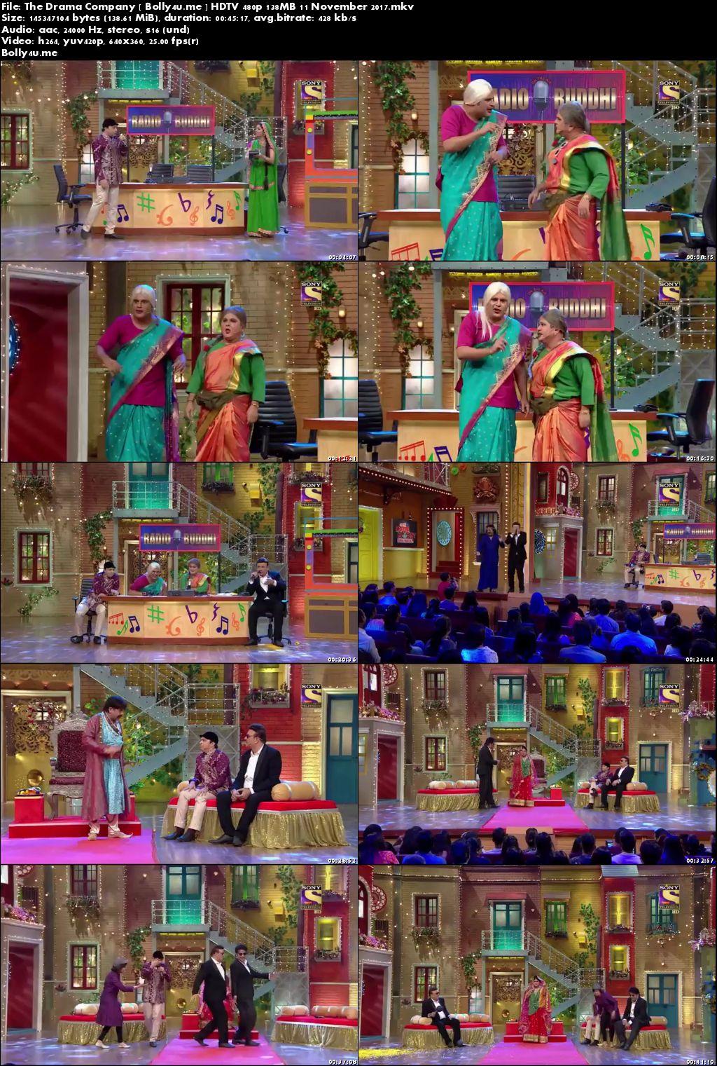 The Drama Company HDTV 480p 140MB 11 November 2017 Download