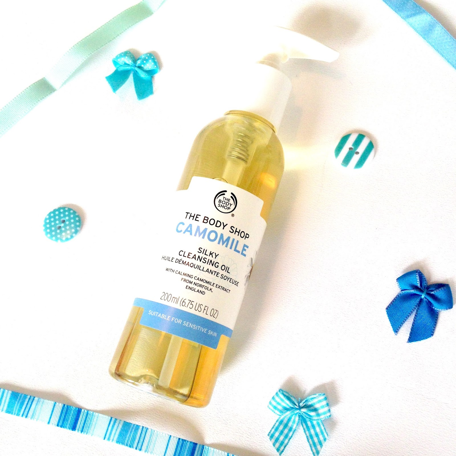 The Body Shop Camomile Cleansing Oil Review