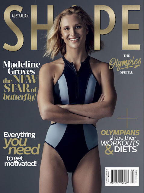 Swimming Player, @ Madeline Groves - Australian Shape, August/September 2016