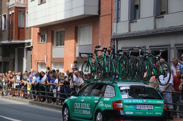 Vuelta ciclista a España por Barakaldo