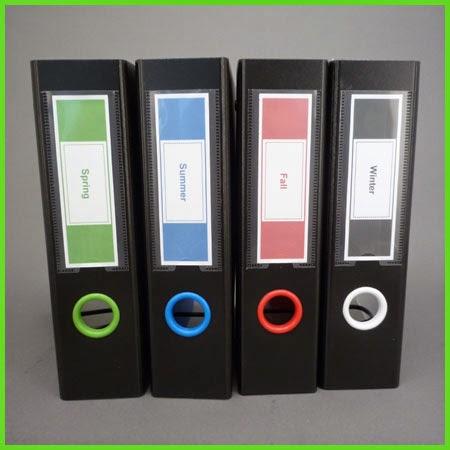 Keepfiling Box Design Spine Label