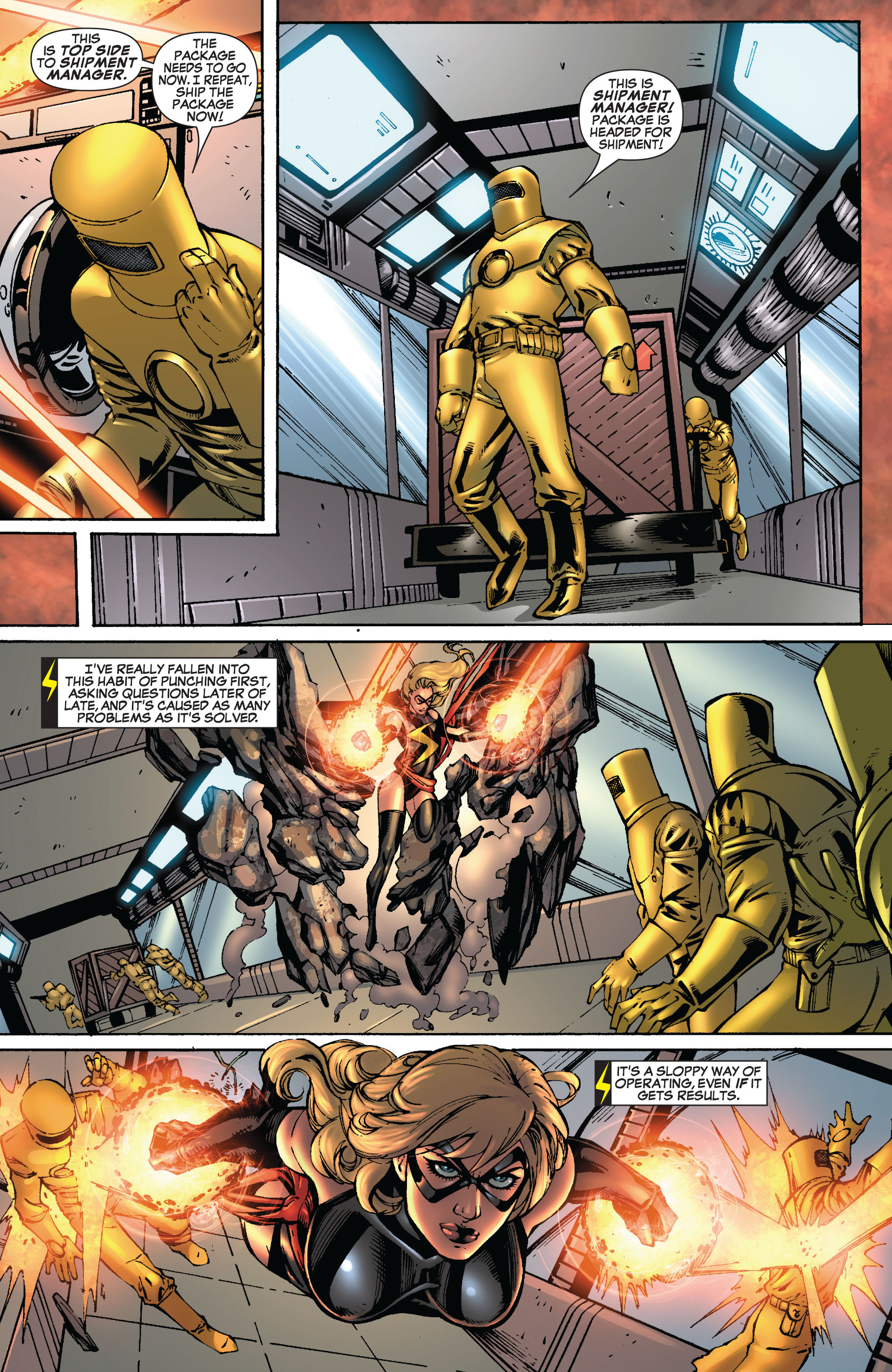 Read online Secret Invasion: The Infiltration comic -  Issue #8 - 10