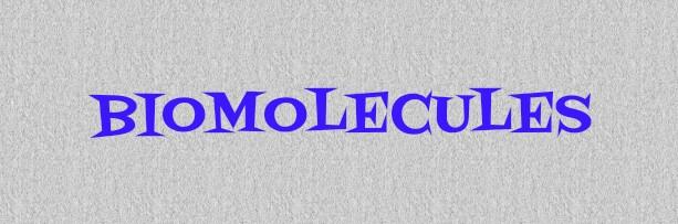 Best Notes of Biomolecules