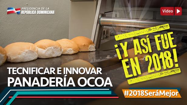 VIDEO: Panadería Ocoa !Y así fue en 2018!