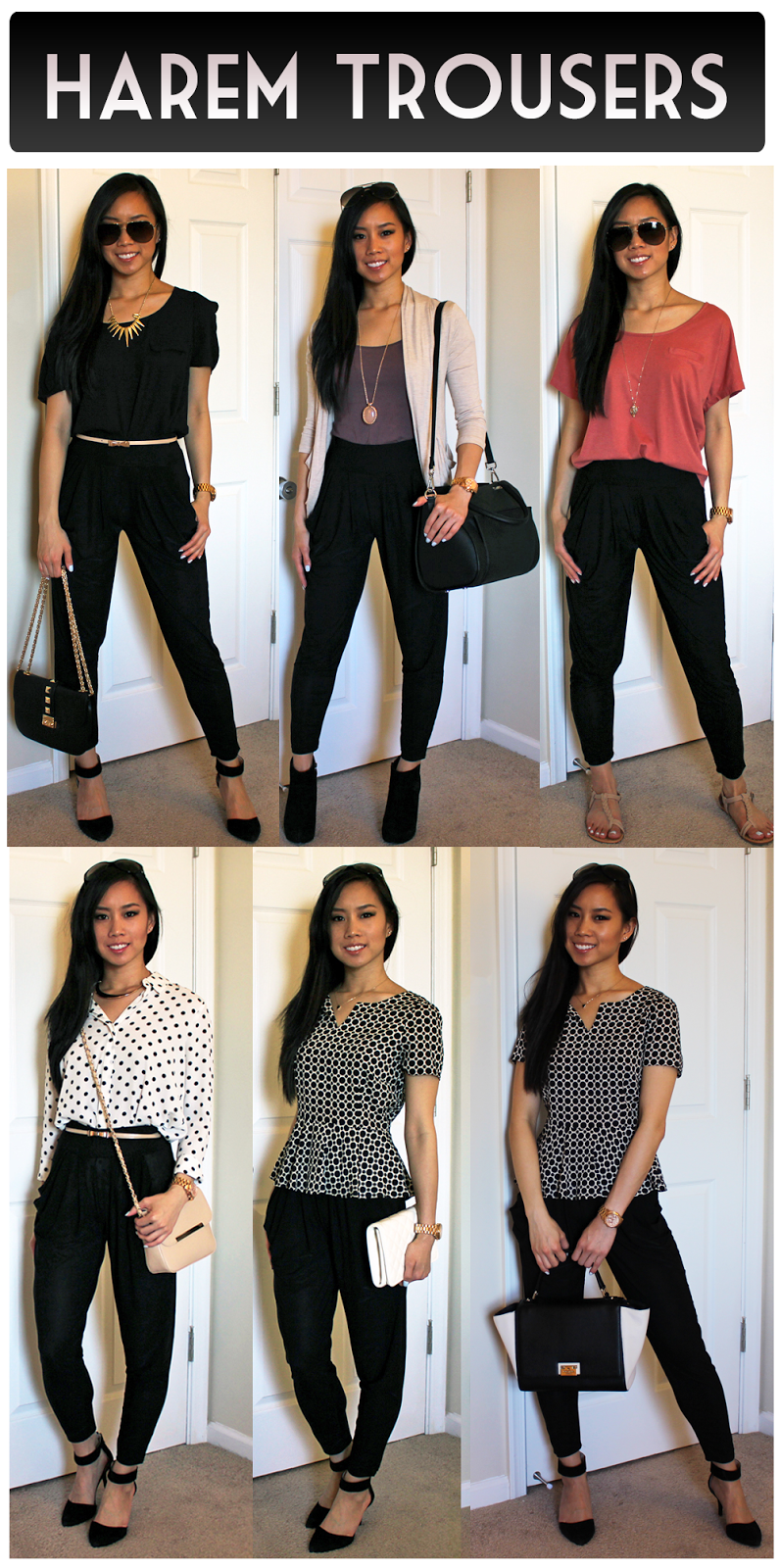 Among the alternatives to skinny jeans (such as wide-leg pants and boyfriend jeans), harem pants are consistent bestsellers on YesStyle in both the menswear and women's categories.