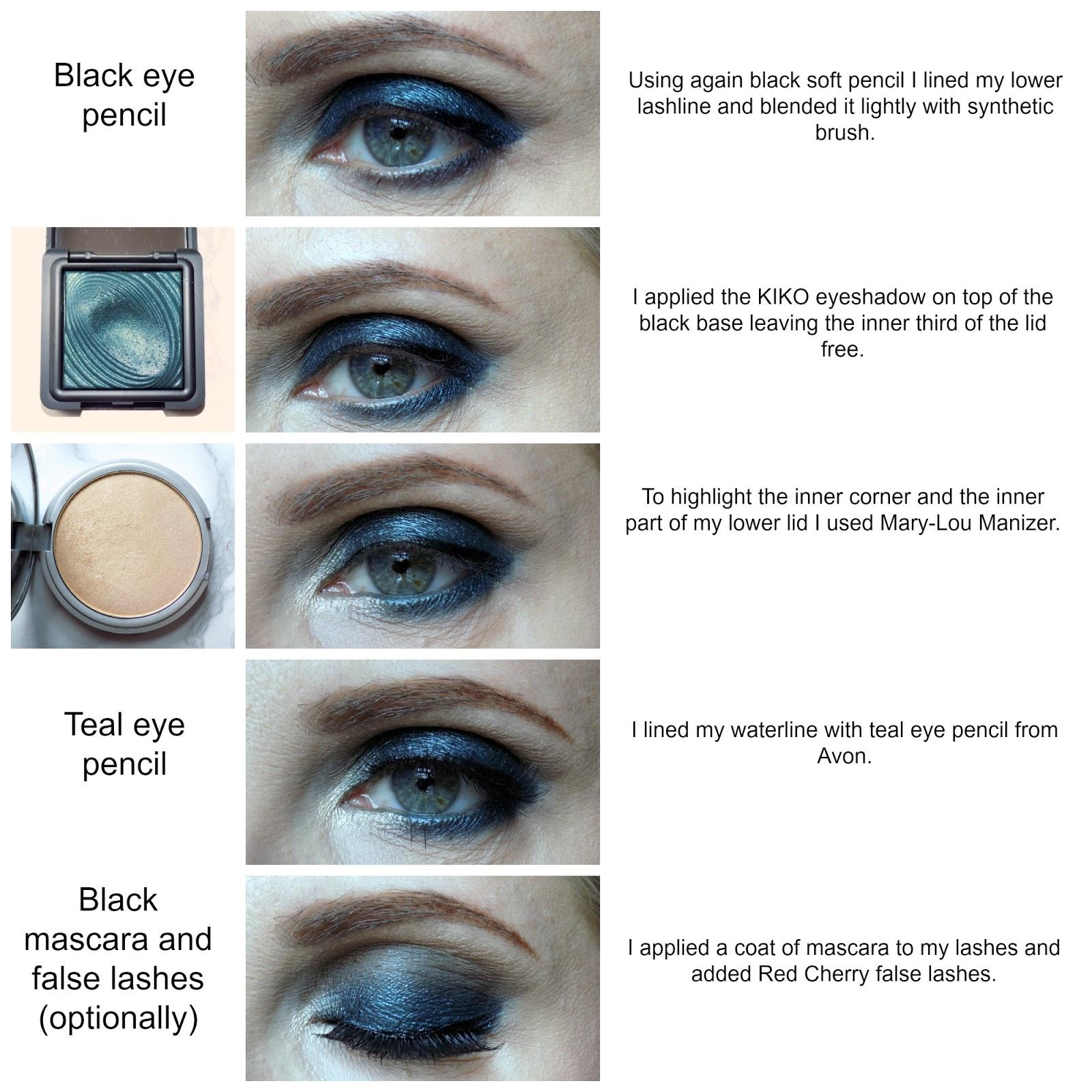 Makeup Look 23 Easy Dark Green Smokey Eyes Mummys Beauty Corner