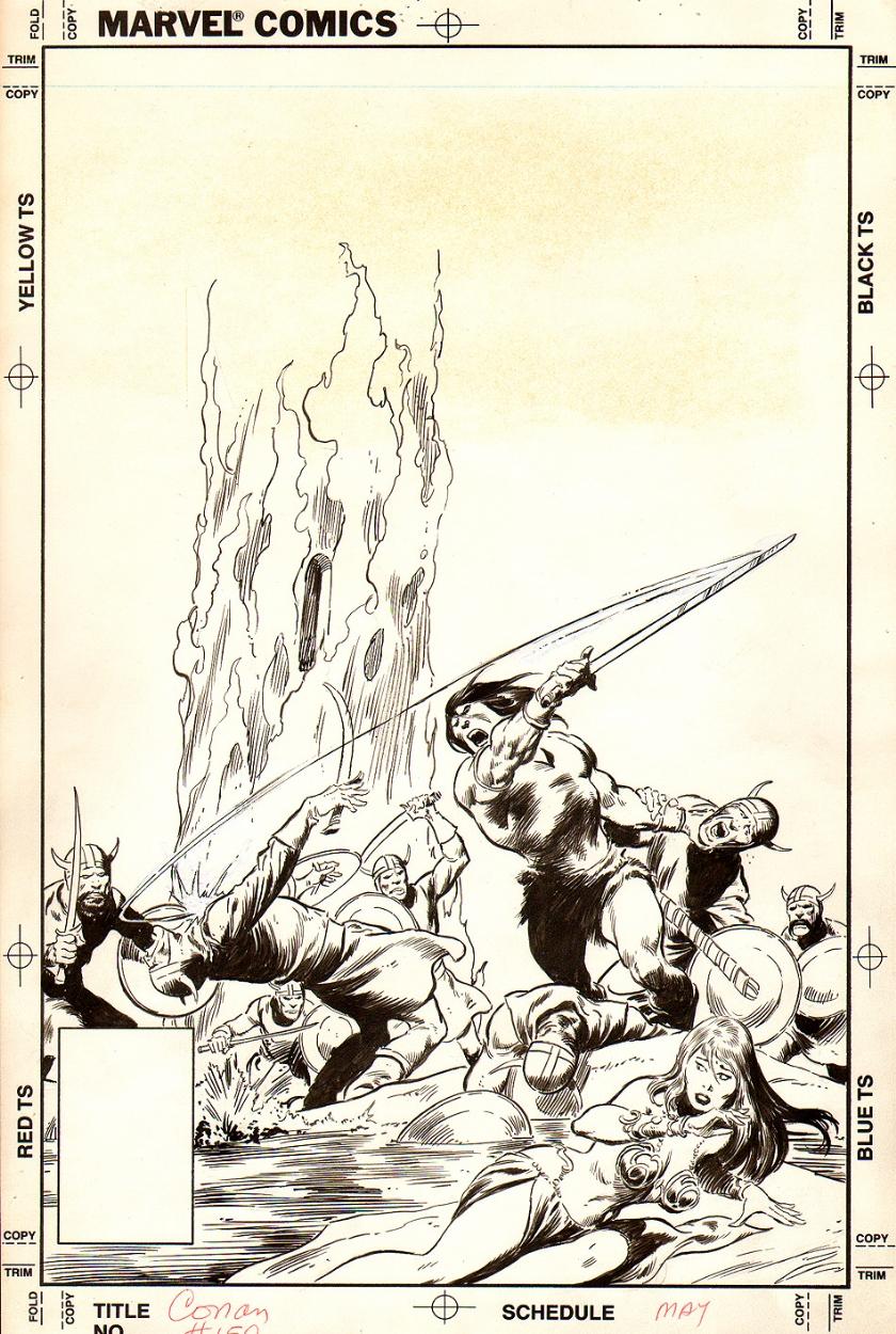 Rip Jagger S Dojo Big John S Barbarian Cover Gallery