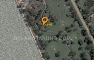 Lokasi Banglo Seri Pantai