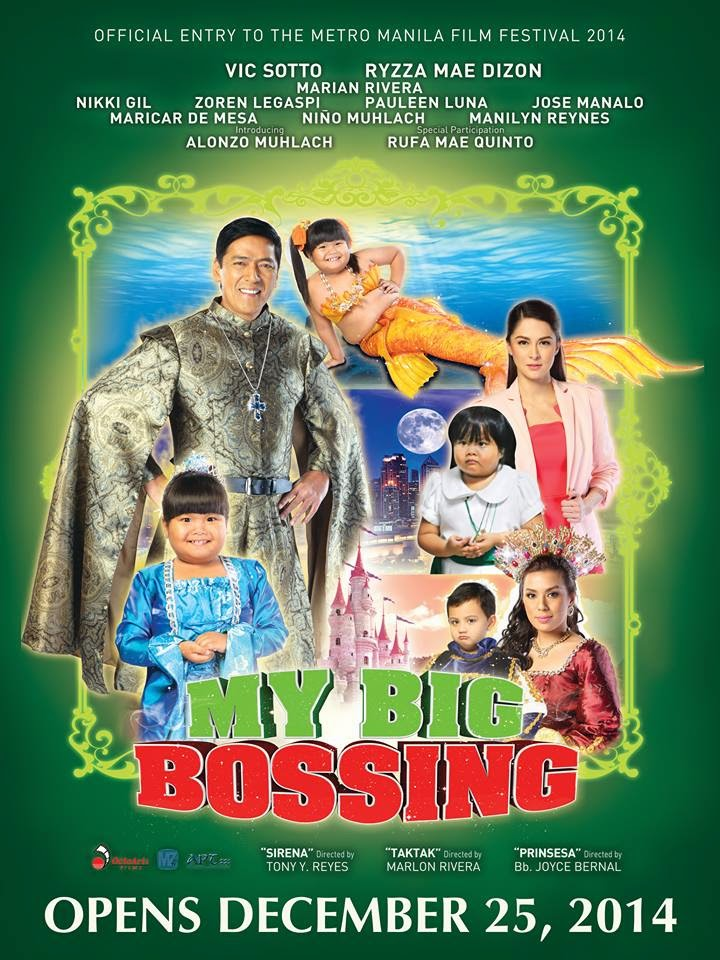 MMFF 2014: 'My Big Bossing', biggest family movie of the