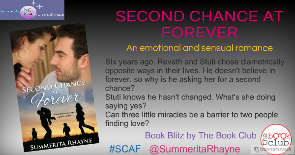 Book Blitz: SECOND CHANCE AT FOREVER BY SUMMERITA RHAYNE