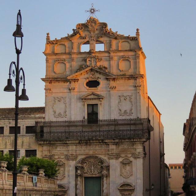 Road trip in Sicily - Baroque church in Siracusa