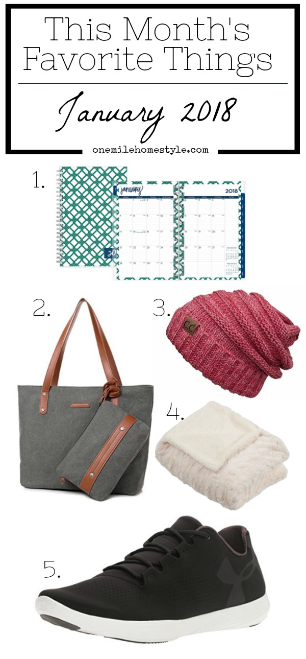 One Mile Home & Style January Favorite Things - Organization, Home Decor and Winter Accessories