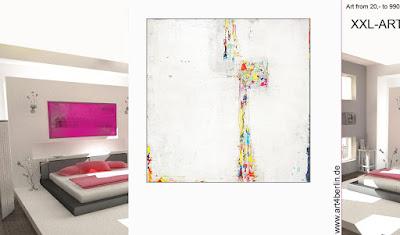 Wohnzimmer Malerei Xxl Bilder Abstrakt Guenstig