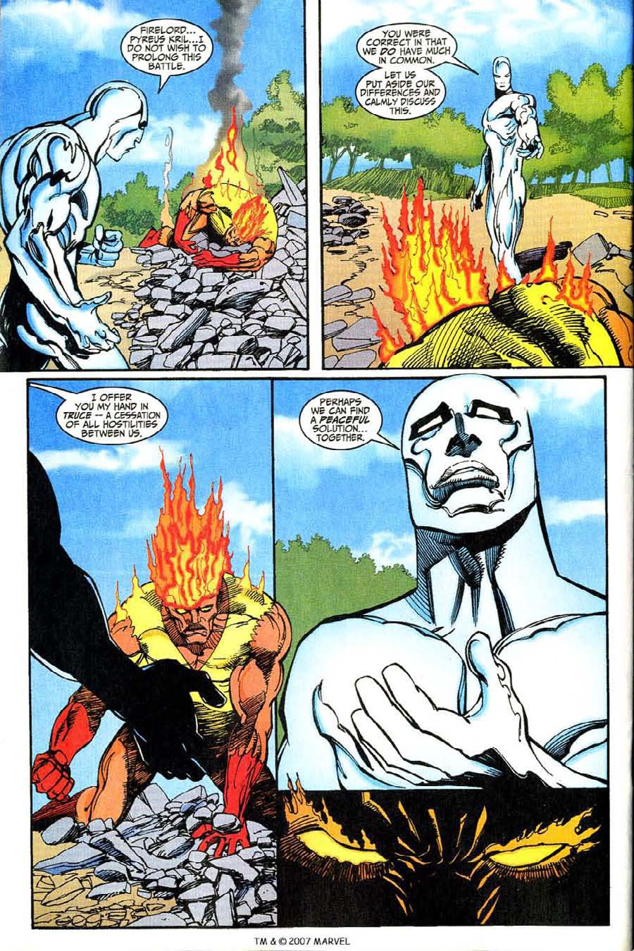 Read online Silver Surfer (1987) comic -  Issue #146 - 28
