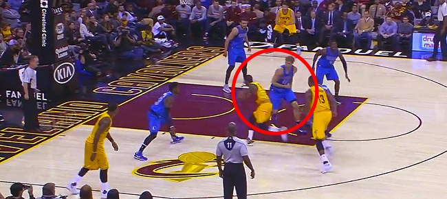 Kyrie Irving Freezes Dirk Nowitzki With NASTY Crossover (VIDEO)