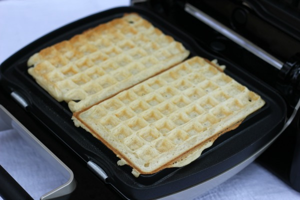 Light and Crisp Buttermilk Waffles