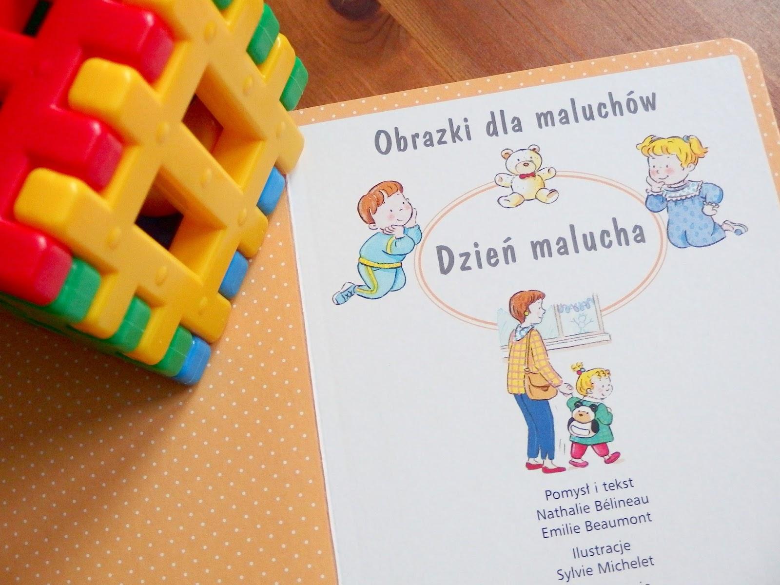 obrazki dla maluchów książka olesiejuk