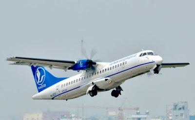 Một máy bay của Vasco.