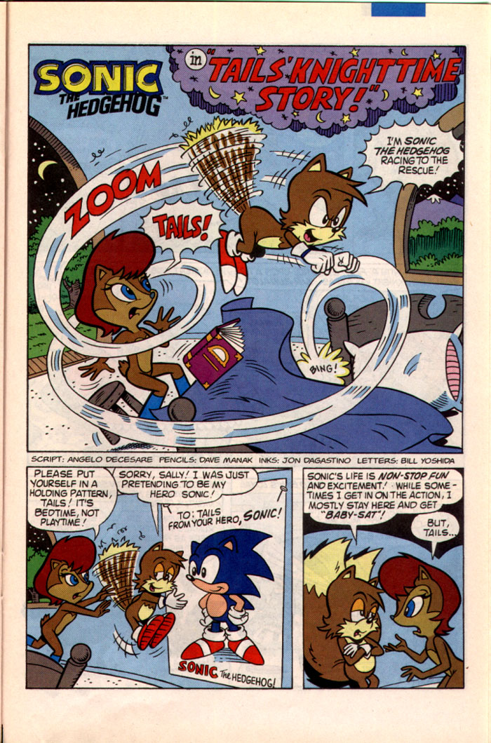 Read online Sonic The Hedgehog comic -  Issue #22 - 20