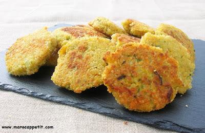 Recette de galettes de légumes | Vegetable pancakes recipe
