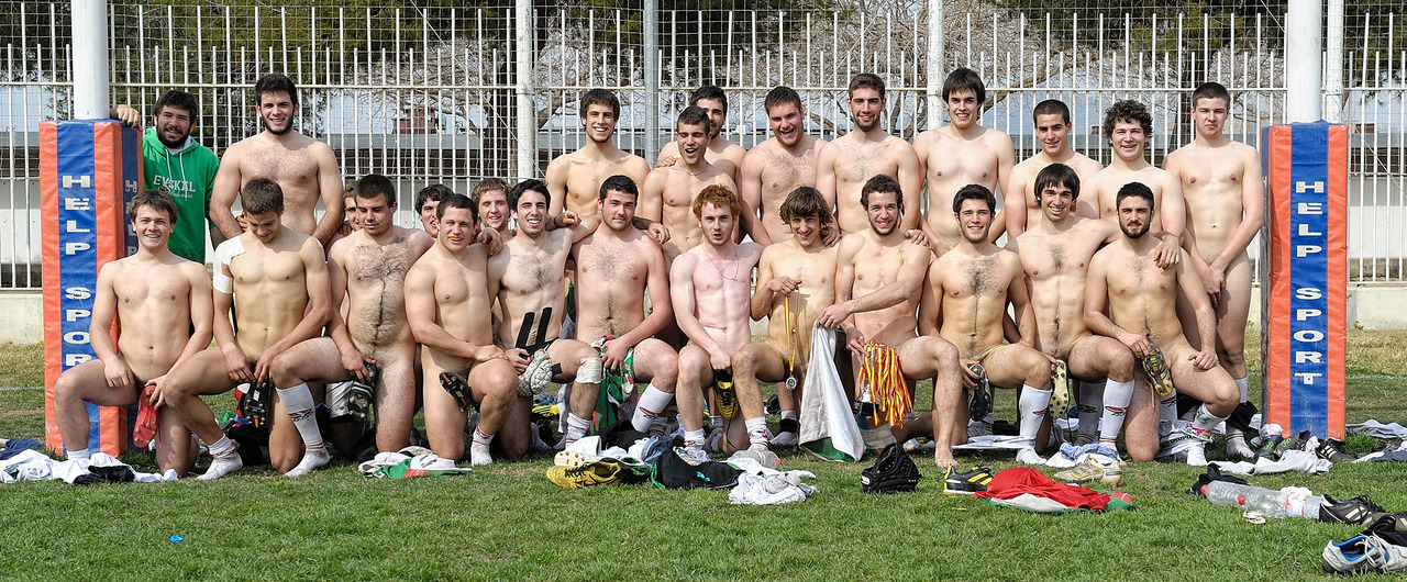 Vintage naked football players, huge boob cumshots