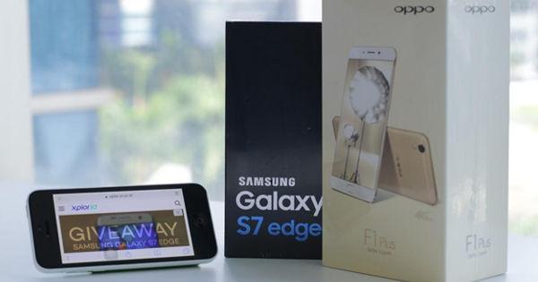 Kontes XL Berhadiah HP OPPO F1 Samsung S7 Edge & Internet Gratis ...