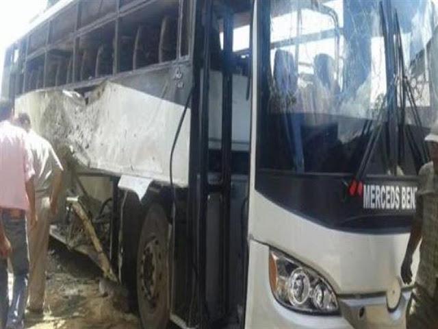 تفاصيل هجوم اليوم حادثة مقتل الأقباط في اتوبيش دير الأنبا صاموئيل