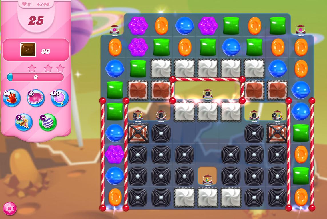 Candy Crush Saga level 4240