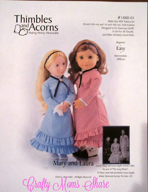 http://www.pixiefaire.com/collections/thimbles-and-acorns/products/1880-mary-and-laura-16-and-18-doll-clothes