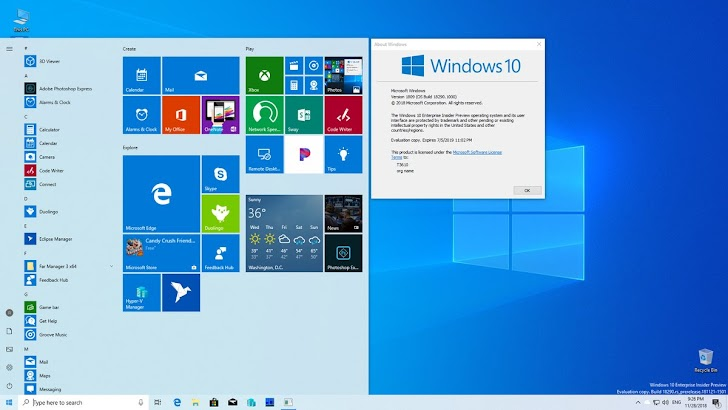 Microsoft Rilis Windows 10 Insider Preview Build 18290 Ke Fast Ring
