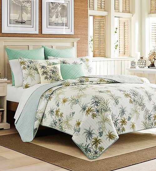 Tommy Bahama Coastal Island Palm Bedding