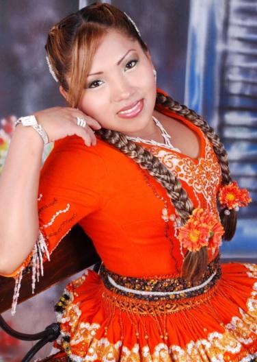 Foto de Rosita de Espinar posando para fans
