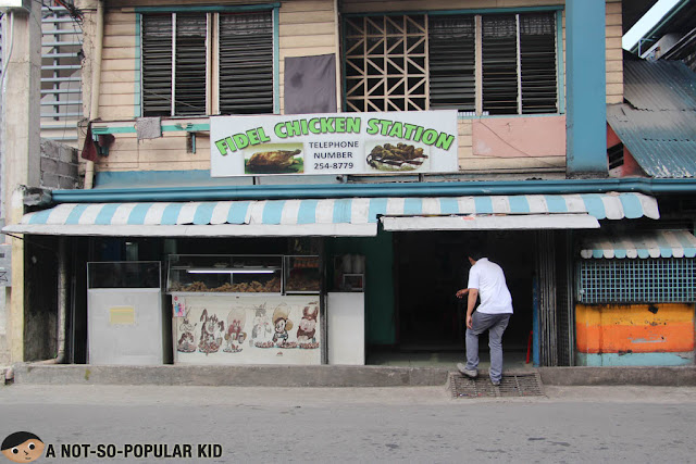 Fidel Chicken Station in Cebu