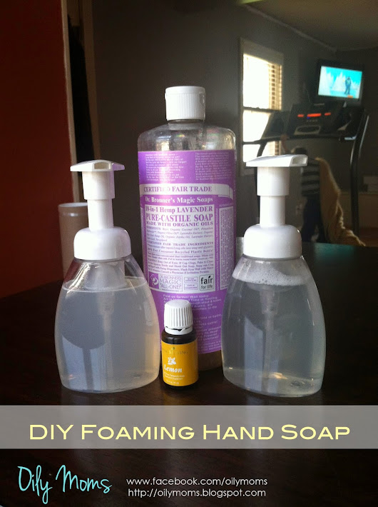 Foaming Hand Soap | Young Living Essential Oils