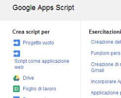 automatizzare gmail con gli script