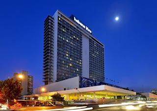 El hotel Habana Libre, sede de la Olimpiada de Ajedrez.