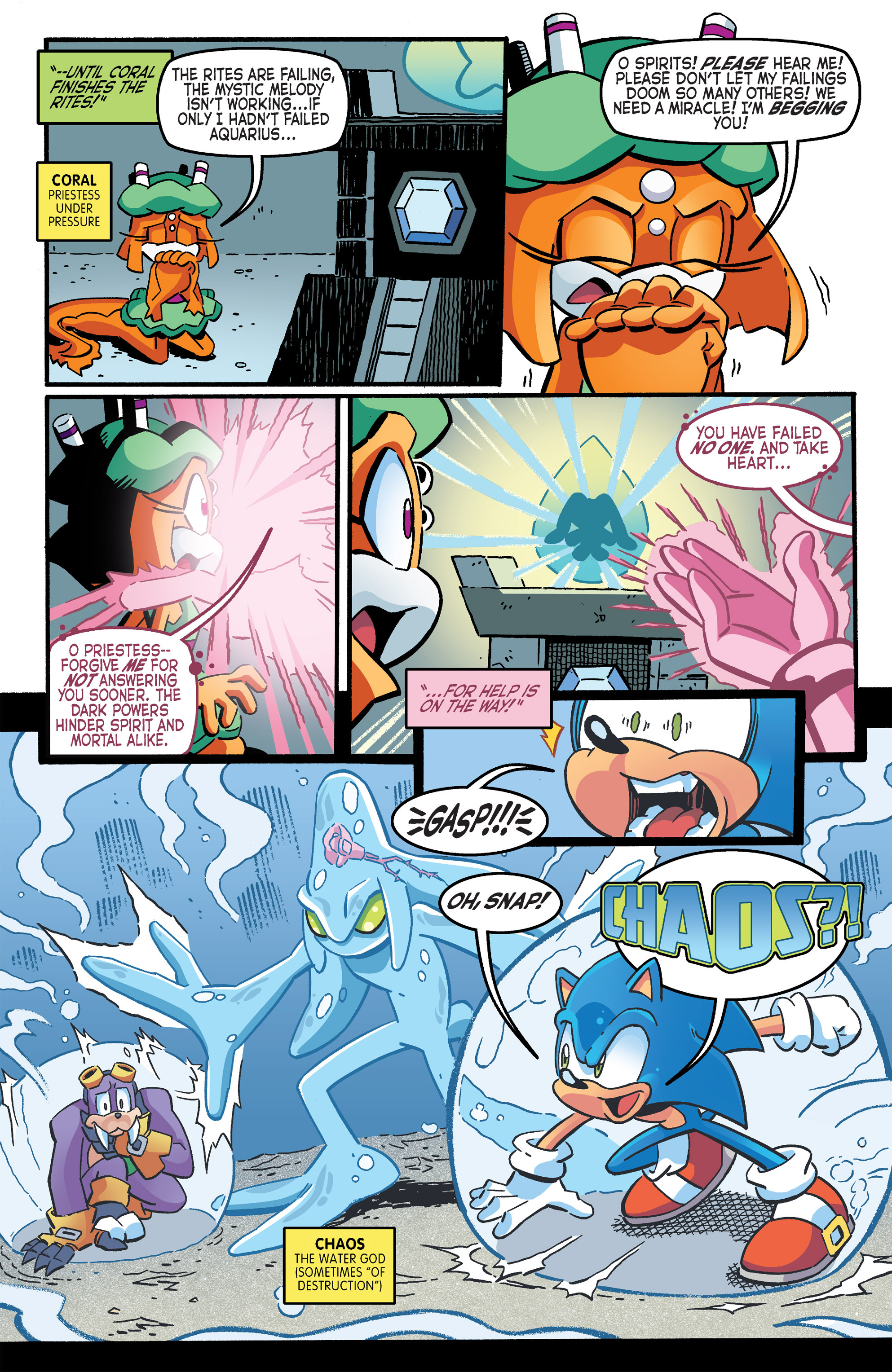 Read online Sonic The Hedgehog comic -  Issue #263 - 6